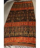 Handspun Hand woven Sumba Hinggi Warp Ikat Tape... - $492.24