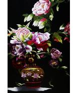 Hmong Floral Bouquet Silk Embroidery Original M... - $692.99