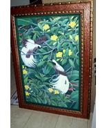 Huge Handpainted Custom Framed Original Canvas ... - $980.09