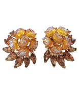 Trifari Etoile Ad Piece Couture Runway Earrings... - $100.00