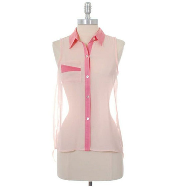 Women's Retro Style Soda Pop Top