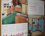 Buy Appliances - 1959 AD~HOTPOINT KITCHEN APPLIANCES~REFRIGERATOR,STOVE