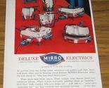 Buy Appliances - 1964 AD~MIRRO ELECTRIC SMALL HOME APPLIANCES~ALUMINUM
