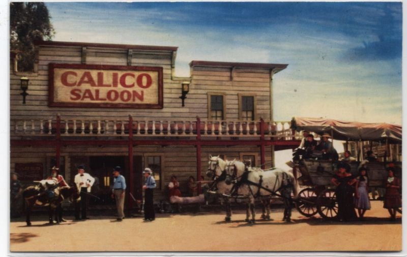 THE CALICO SALOON~KNOTTS BERRY FARM~CALIFORNIA