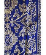 Vintage Metallic Gold Embroidery Museum Brocade... - $247.49