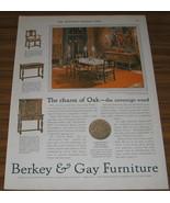 1927 AD~BERKEY & GAY FURNITURE~DINING~GRAND RAPIDS,MI - $9.95