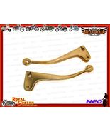 BRAND NEW BRASS CUSTOMIZED BRAKE & CLUTCH LEVER... - $39.99