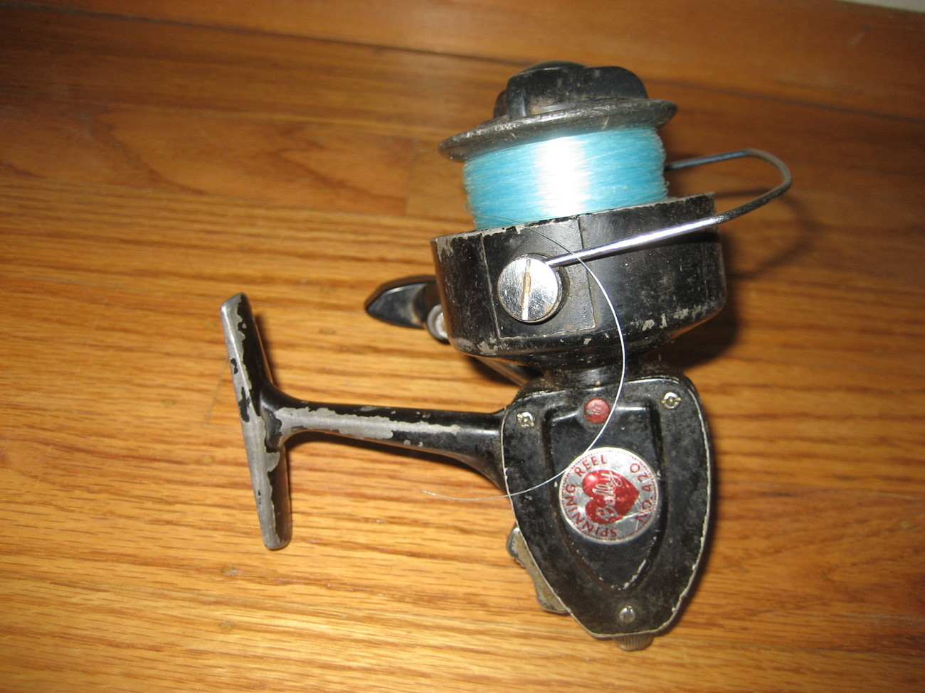 "VINTAGE 1960'S ""BERKLEY NO.420 BLACK SPINNING REEL"