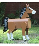 Horse Lover Mailbox , You Pick the Colors - $175.00