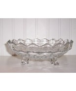 FOSTORIA AMERICAN 3-FOOTED BOWL BON BON 6-3/4