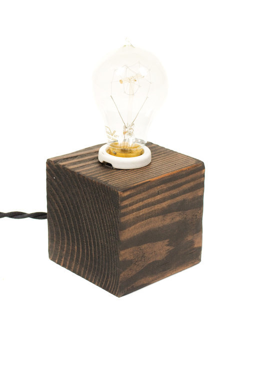 The Minimalist Edison Bare Bulb Table Accent Lamp