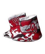 OU Oklahoma Boomer Sooners Baby Camo Boots, han... - $30.00