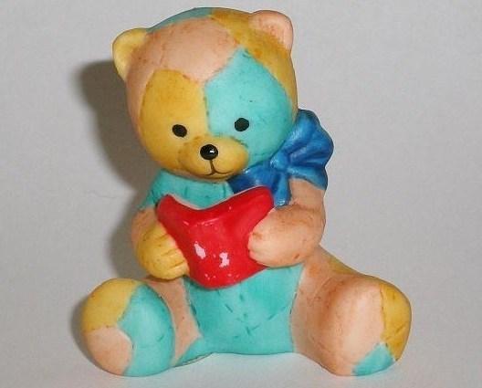 Bronson Figurine Bear Patches by Katharine Stevenson
