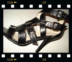 black GLADIATOR heels strappy  8.5 - NY - Bonanzle