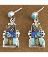 Inlaid Turquoise Semi Precious Stone Santa Fe S... - $249.07