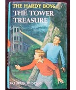 Hardy Boys THE TOWER TREASURE Brown Multi Endpa... - $6.00