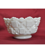 Westmoreland Milk Glass Old Quilt pattern small... - $9.99