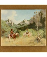 Southwestern Indian Waiting Painting Limited E... - $150.07