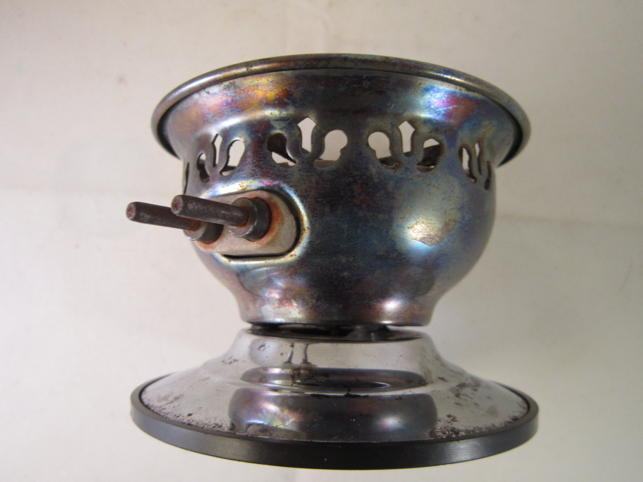 Silex Glass Coffee Maker Stove, 1930s One Cup, Vacuum Brewer Hot Plate - Coffee Makers