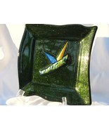 Slumped Glass Plate or Dish RKP14 - $18.00