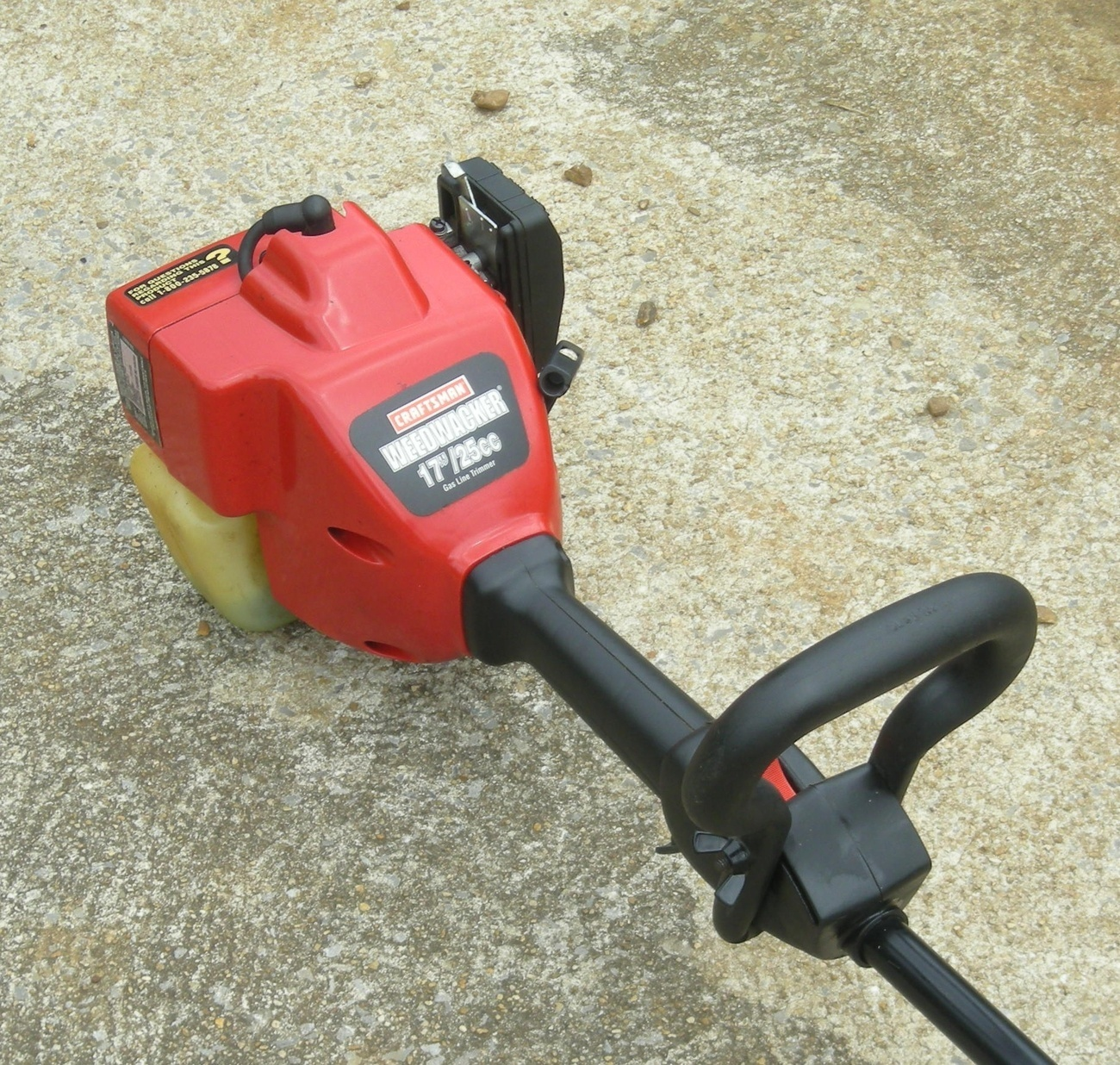 craftsman 25cc weed eater manual