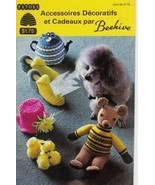 Knit Crochet French Patterns Dog Coat Tea Cosy ... - $3.93