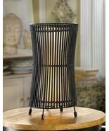 Metal Slat Concave Table Lamp - $42.00