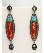 Signed ADAYA Maya Micro Mosaic Earrings - $49.00