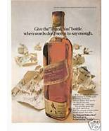 Johnnie Walker Scotch ad page - $8.00
