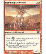 Lightning Elemental Magic the Gathering 8th Edi... - $1.00