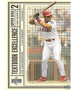 1999 Upper Deck Textbook Excellence Ivan Rodrgu... - $1.25
