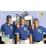 1992 Upper Deck KC Royals #54 Joyner Brett Jeff... - $1.00