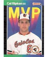 1989 Donruss Cal Ripken MVP Card #BC-15 - $1.00