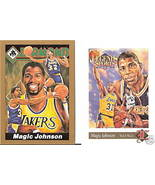 Magic Johnson Promo Cards. Legend Sports & ... - $10.00