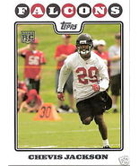 2008 Topps Chevis Jackson Rookie Card #391 - $1.00