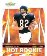 2007 Score Greg Olsen HOT Rookie Card #HR-10 - $1.00