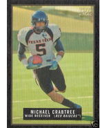 2009 Topps Magic Michael Crabtree Mini Blk Bord... - $8.00