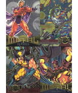 Marvel Metal 4 Card Promo Sheet - $4.00
