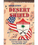 1991 OPERATION DESERT SHIELD TRADING CARD COLLE... - $6.00