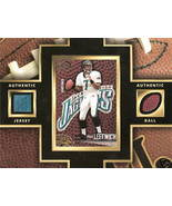 Byron Leftwich Jersey and Ball Piece from Vinta... - $7.00