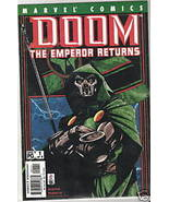 Marvel DOOM:THE EMPEROR RETURNS - 2002 #1-3 - $2.50
