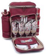 POSH CAMPER POLYESTER DELUXE PICNIC BACKPACK FO... - $85.00