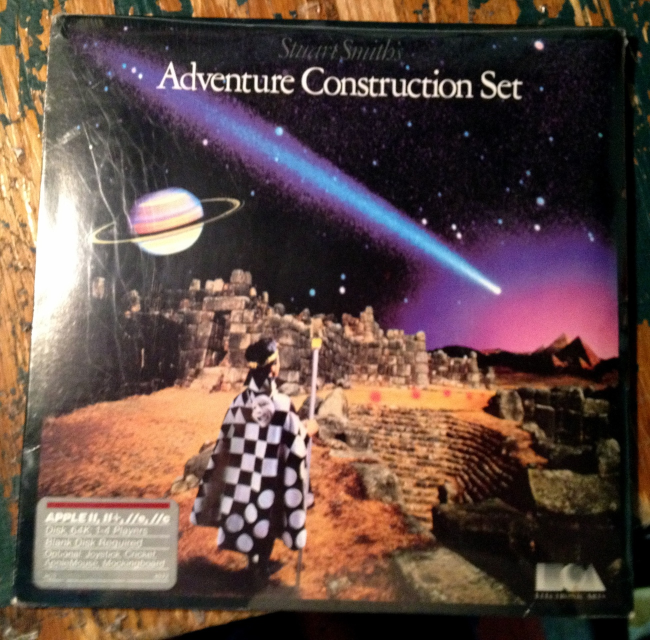Adventure Construction Set for Apple II+ IIe IIc Factory Sealed