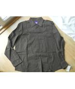 William W Men Dress Shirt Brown square Size XL ... - $24.99