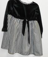 Youngland black and silver special occasion dre... - $5.00