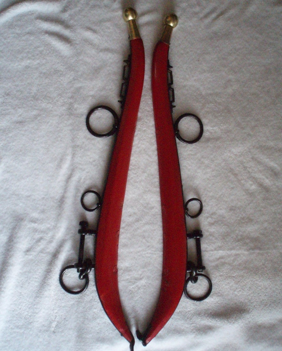 Horse hames brass ball tip equestrian supply harness
