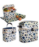 Aluminum framed picnic cooler basket for 4 pers... - $75.00