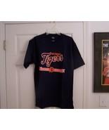 DETROIT TIGERS LOGO ADULT MED T-SHIRT NEW - $9.99