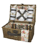 SUNRISE COLLECTION RED WILLOW PICNIC BASKET FOR... - $64.00