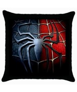NEW* SPIDERMAN  Black Cushion Cover Throw Pillo... - $18.99